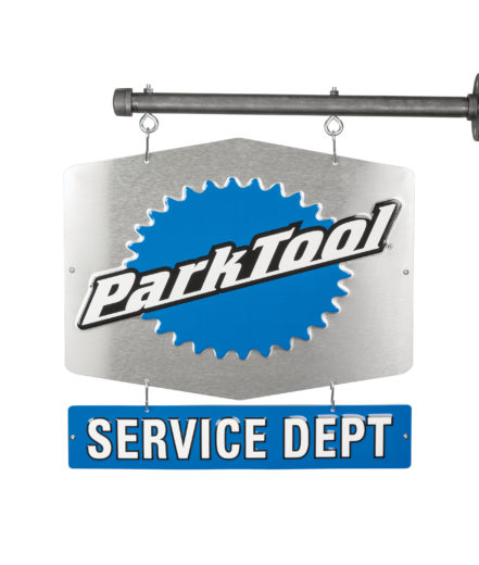 The Park Tool SDS-2 Service Department Sign — Double-Sided, click to enlarge