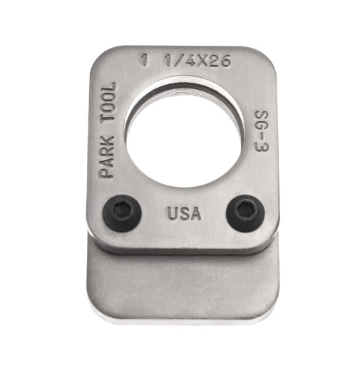 The Park Tool SG-3 Threaded Saw Guide, click to enlarge