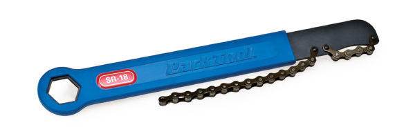 The Park Tool SR-18 Sprocket Remover / Chain Whip, click to enlarge