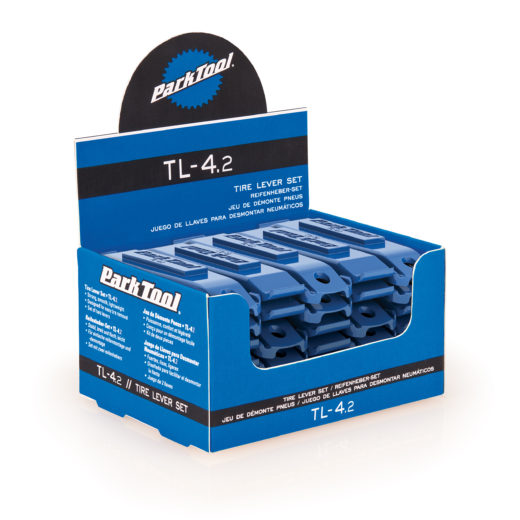 The Park Tool TL-4.2 Tire Lever Set display, click to enlarge