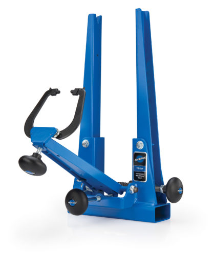The Park Tool TS-2.2P Powder Coated Professional Wheel Truing Stand, click to enlarge