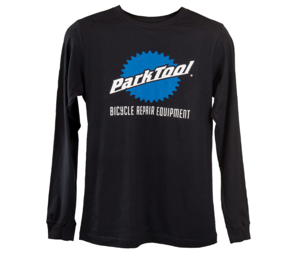 The Park Tool TSLS-5 Black Long Sleeve T-Shirt, click to enlarge