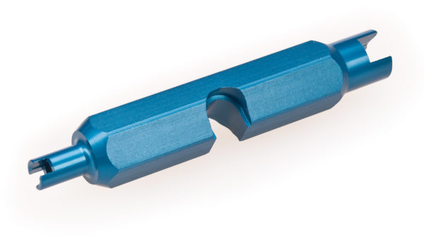 Back of the Park Tool VC-1 Valve Core Tool, click to enlarge