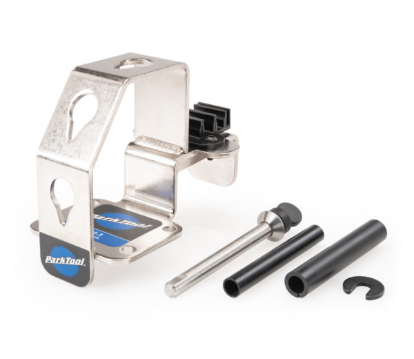 Parts that make up the Park Tool WH-1 Wheel Holder, click to enlarge