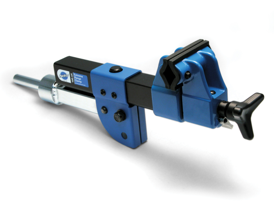 The Park Tool 100-4x Extreme Range Clamp, enlarged
