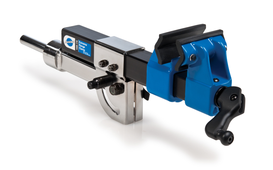 The Park Tool 100-7X Extreme Range Clamp, enlarged