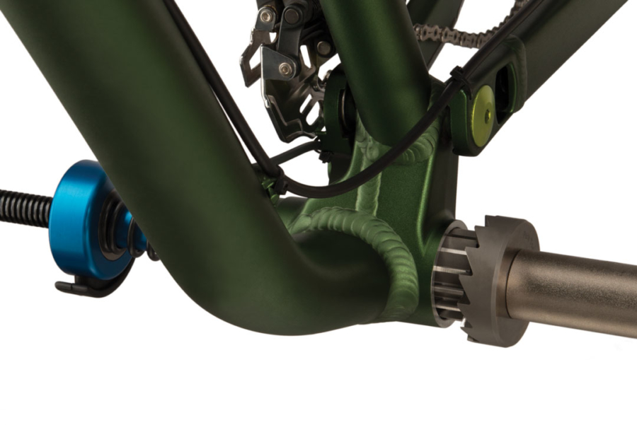 The Park Tool 744, 40.98mm Reamer with 690 facer reaming and facing BB-92 bottom bracket, enlarged