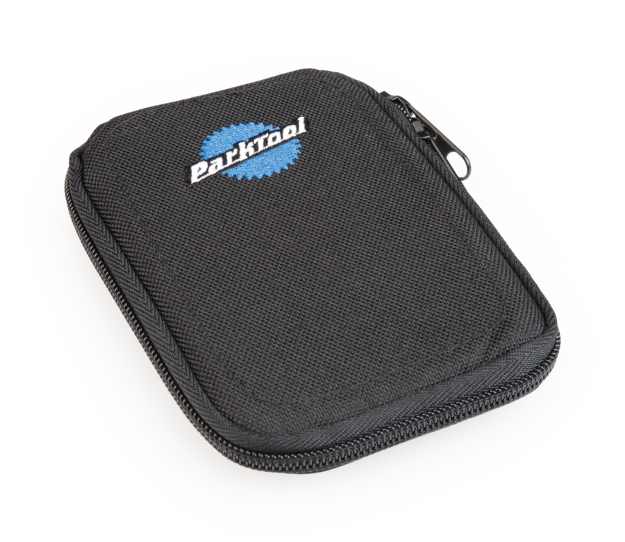 Front of Park Tool 911-7 Zippered Pouch, enlarged