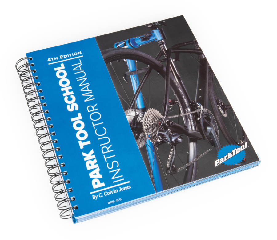 Park Tool BBB-4TG Park Tool School Instructor Manual — 4th Edition, enlarged