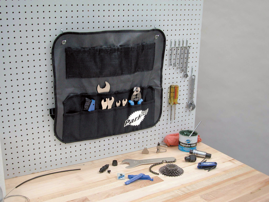 The Park Tool BK-2 Tool Roll, enlarged