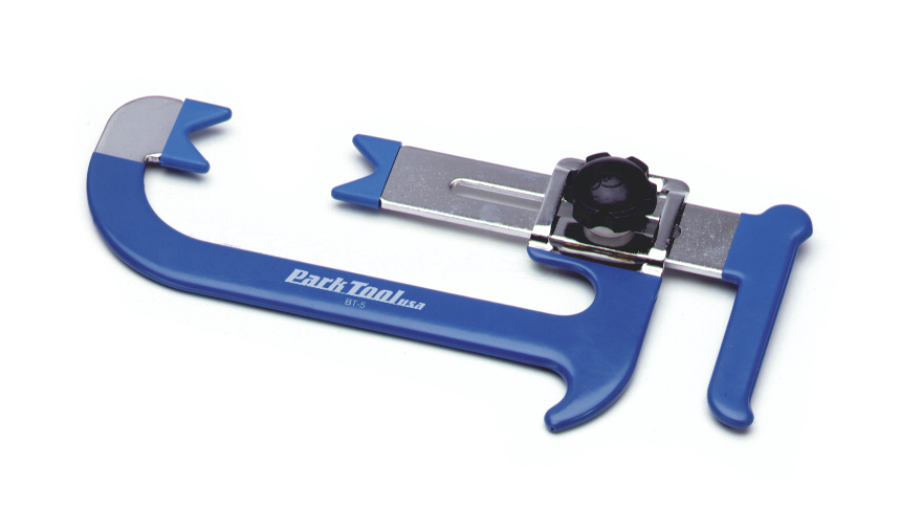 The Park Tool BT-5 Adjustable Third Hand Brake Tool, enlarged