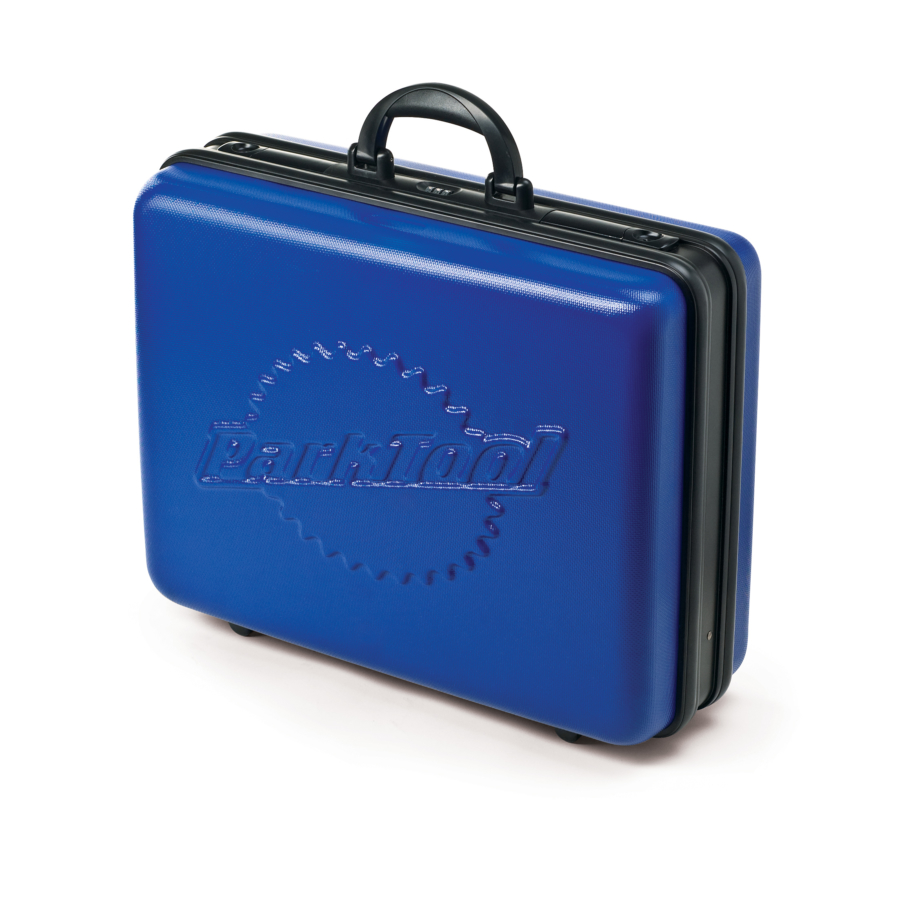 Outside of the Park Tool BX-1 Blue Box Tool Case, enlarged