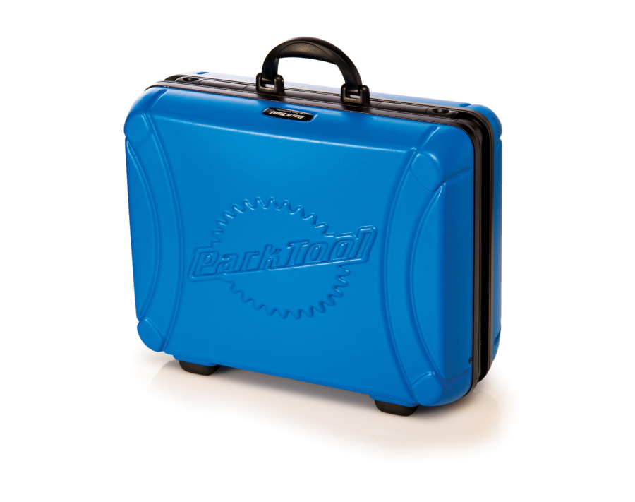 Outside of the Park Tool BX-2 Blue Box Tool Case, enlarged