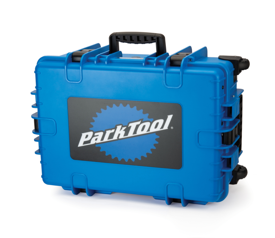Front of Park Tool BX-3 Rolling Big Blue Box, enlarged