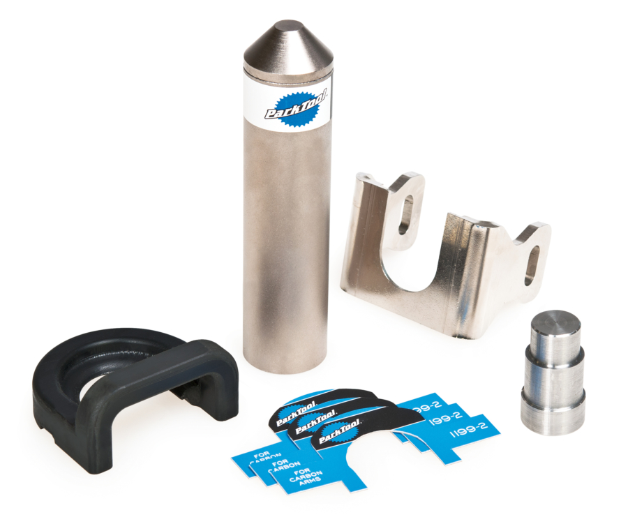 The Park Tool CBP-5 Campagnolo® Power Torque™ Crank and Bearing Adaptor Set, enlarged