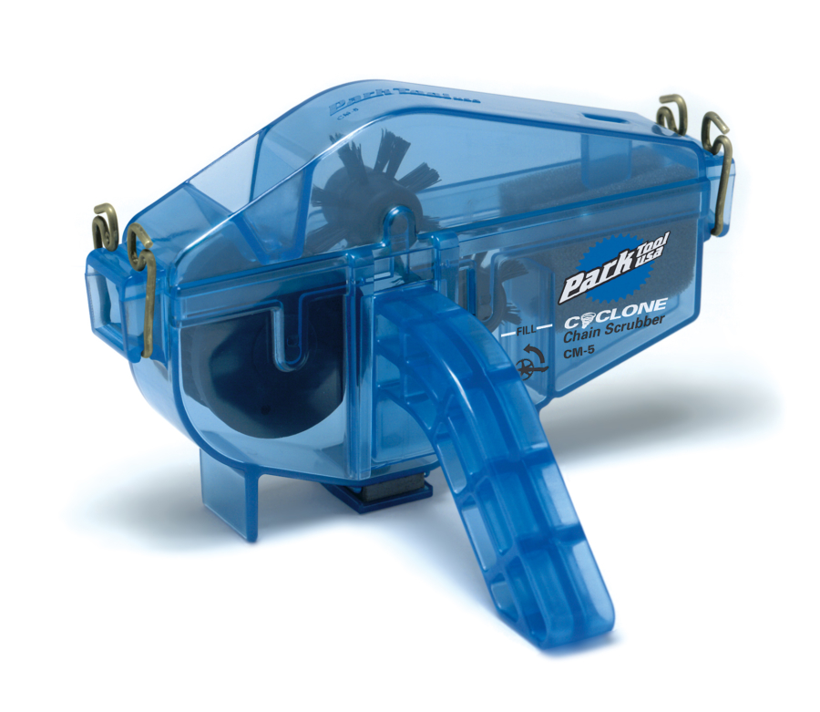 The Park Tool CM-5 Cyclone™ Chain Scrubber, enlarged