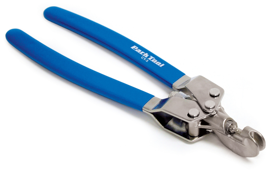 The Park Tool CT-2 Plier Type Chain Tool, enlarged