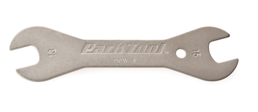 The Park Tool DCW-4, Double-Ended Cone Wrench, enlarged