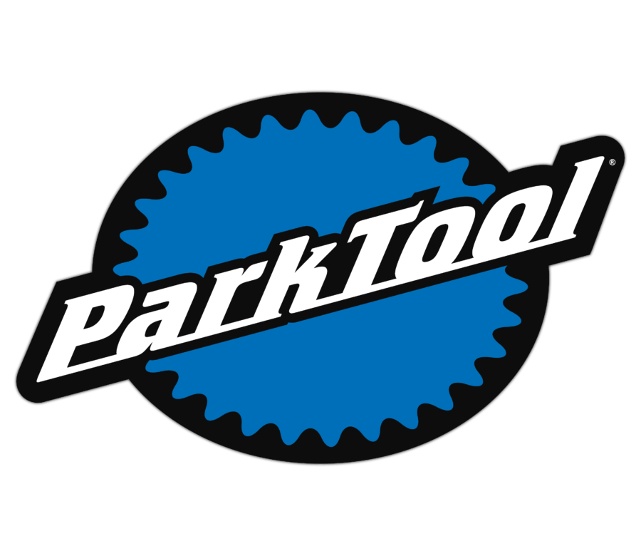 Stacked Park Tool logo decal, enlarged