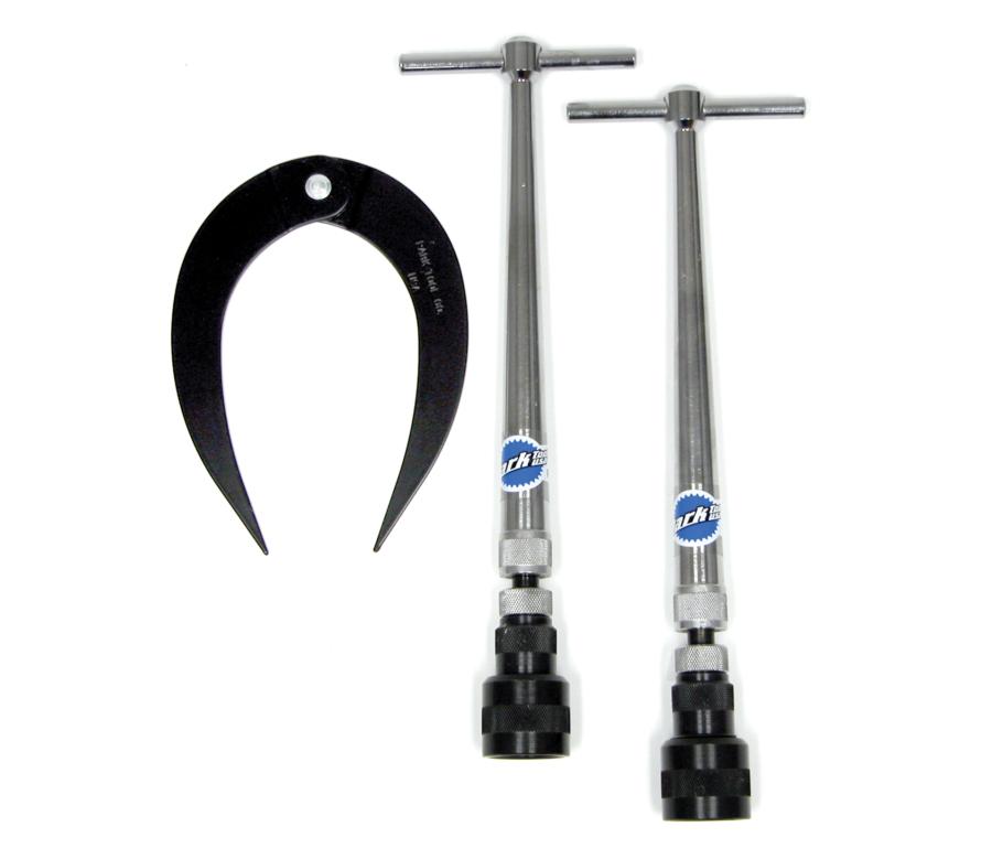 Park Tool FFG-1 Frame and Fork End Alignment Gauge Set, enlarged