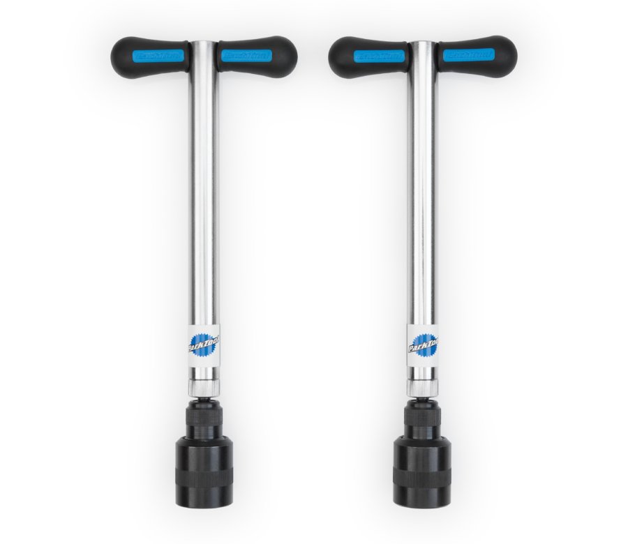The Park Tool FFG-2 Frame and Fork Dropout Alignment Gauge Set, enlarged