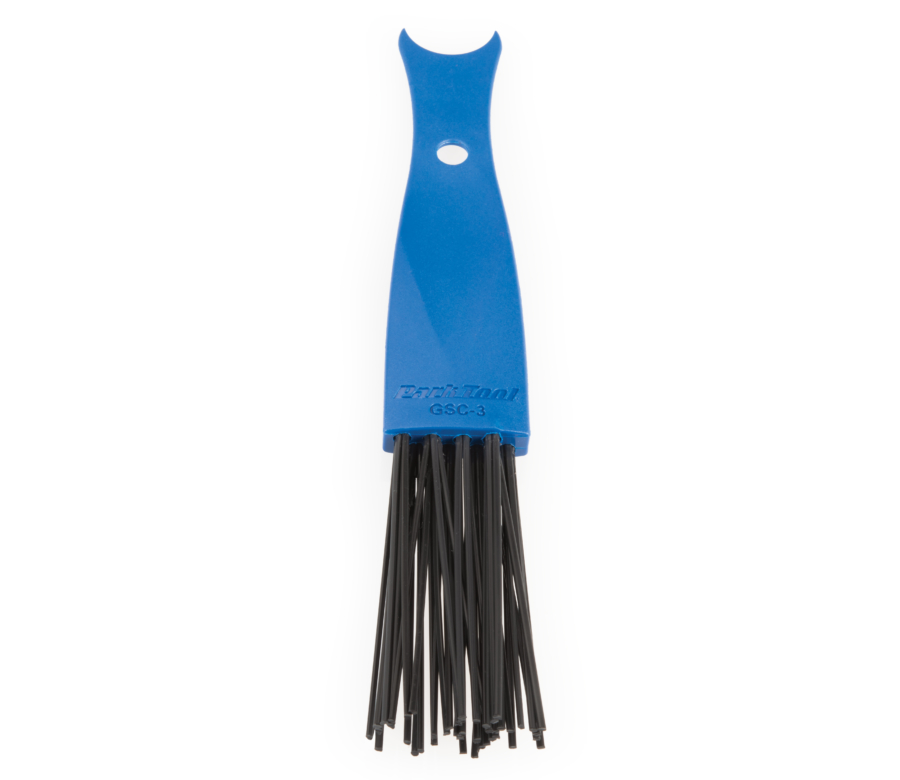 The Park Tool GSC-3 Drivetrain Cleaning Brush, enlarged
