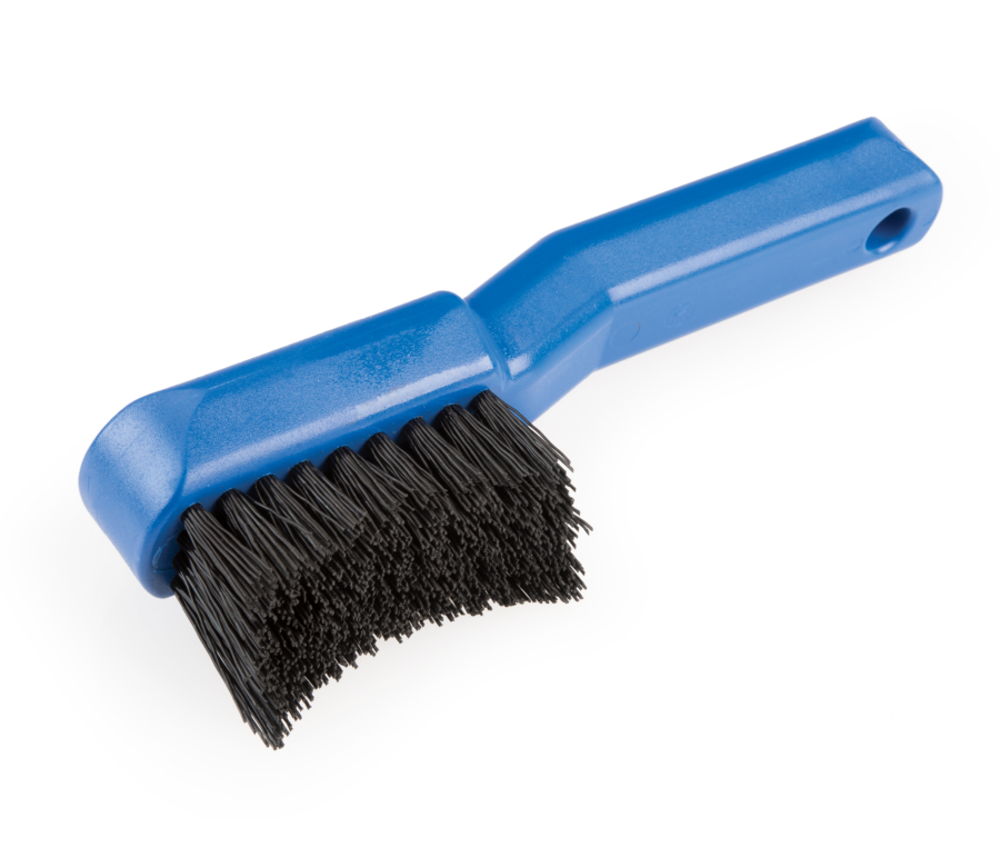 The Park Tool GSC-4 Bicycle Cassette Cleaning Brush, enlarged