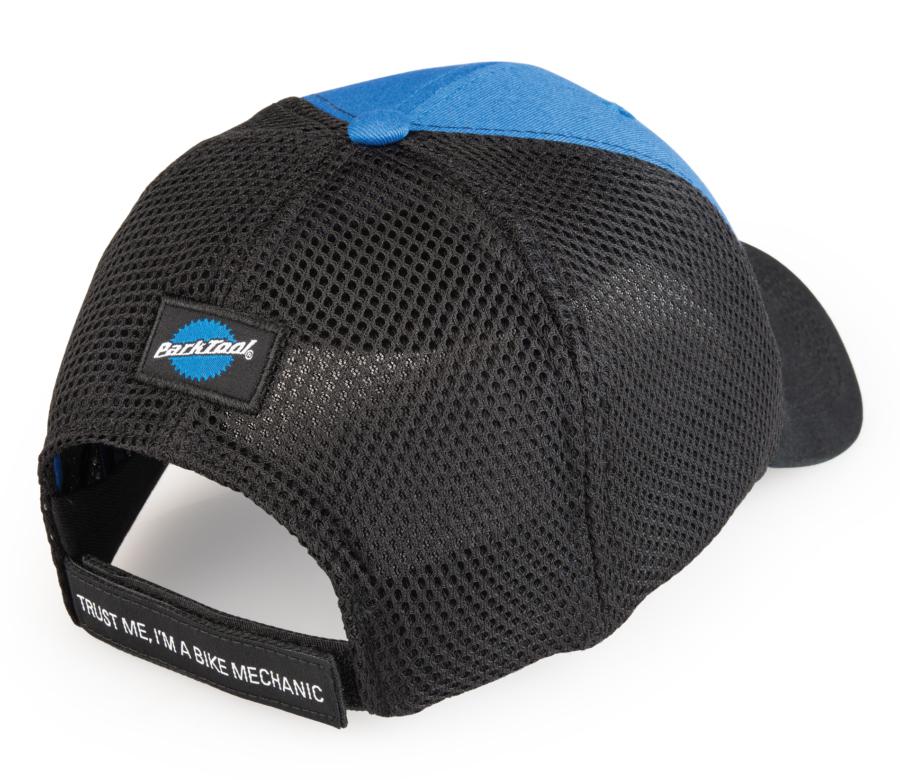 Back of HAT-7, Mesh Back Ball Cap, enlarged