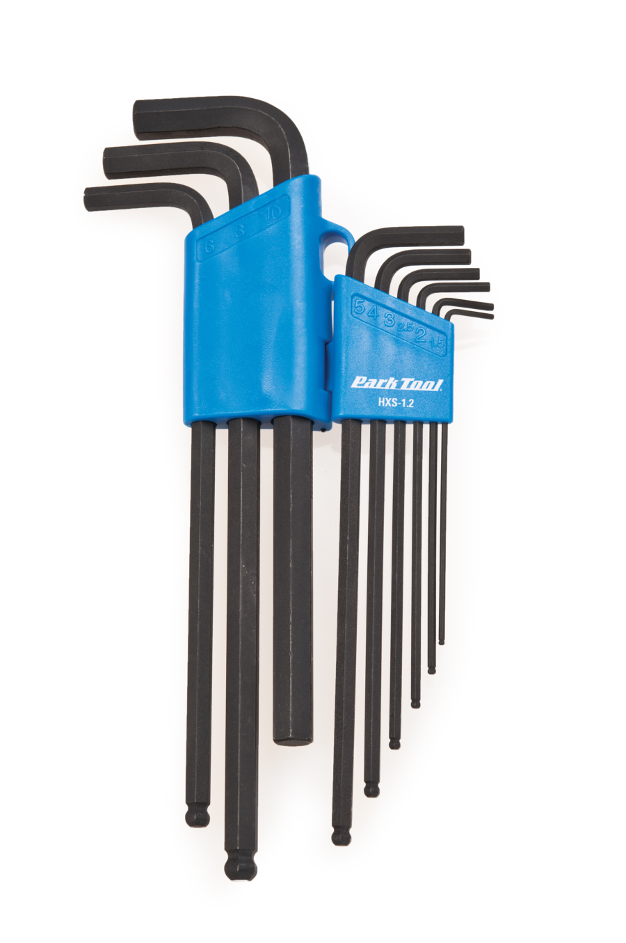 Park Tool HXS-1.2 Professional L-Shaped Hex Wrench Set, enlarged