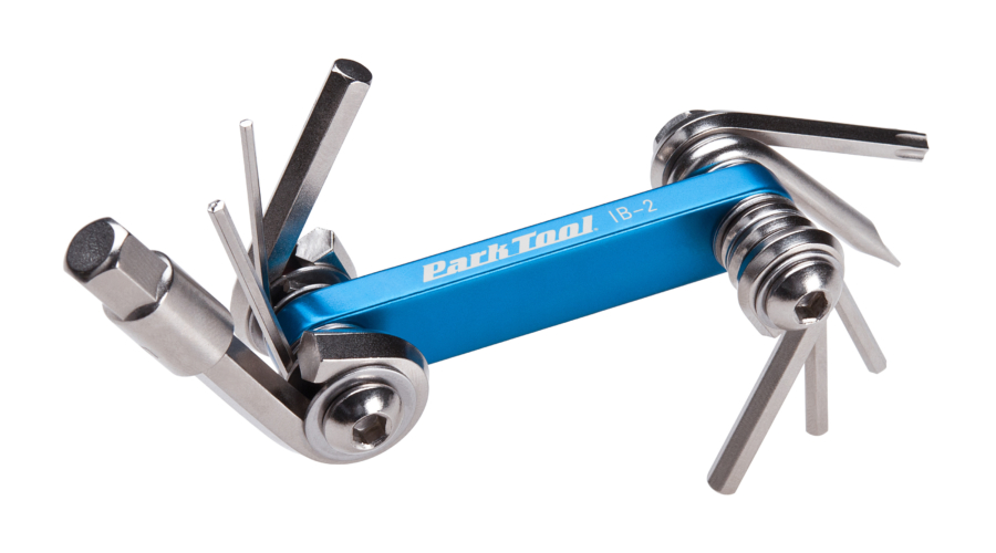 The Park Tool IB-2, I-Beam Multi-Tool, enlarged