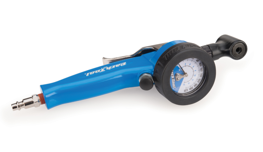 The Park Tool INF-1, Shop Inflator, enlarged