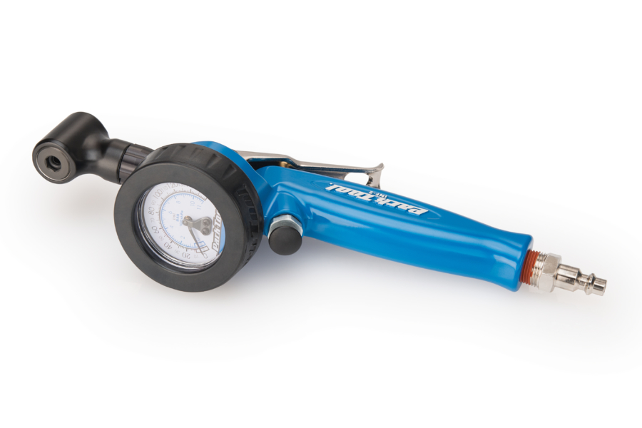 The Park Tool INF-2 Shop Inflator, enlarged