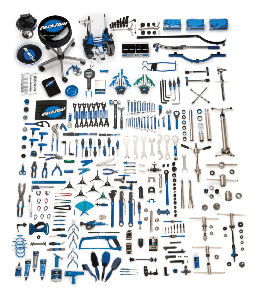 Contents for the Park Tool MK-278, Master Tool Kit, enlarged