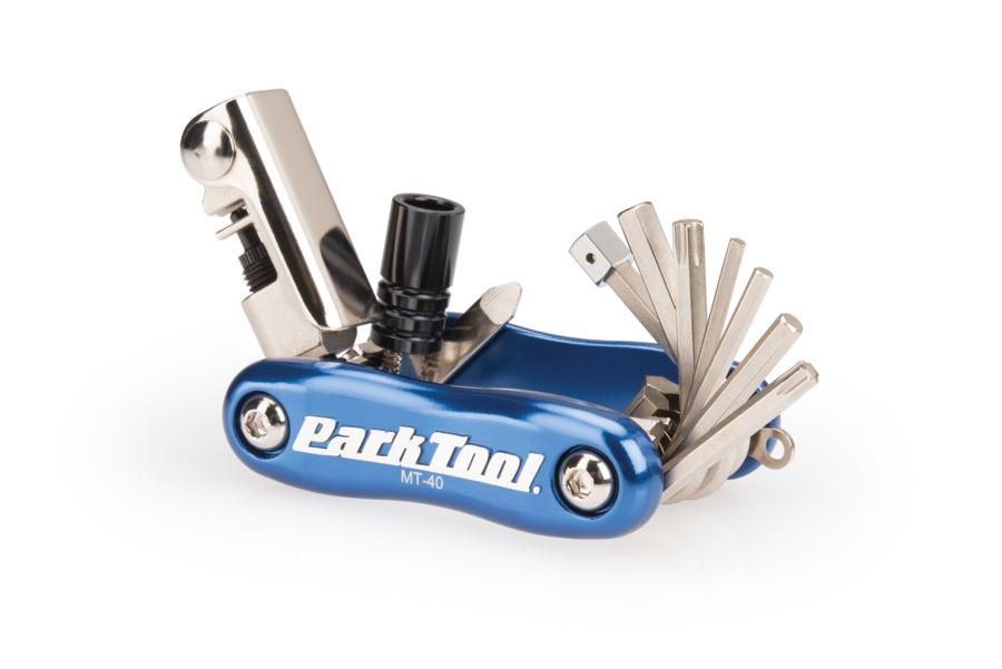 The Park Tool MT-40 Multi-Tool, enlarged