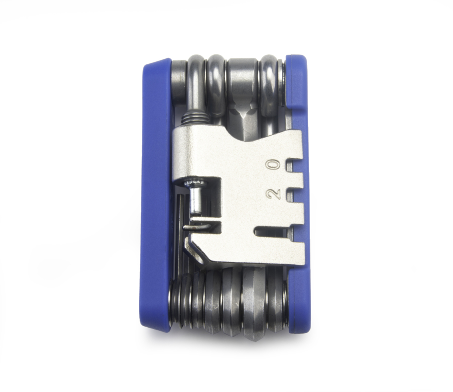 The Park Tool MTB-5 Rescue Tool, folded up, enlarged