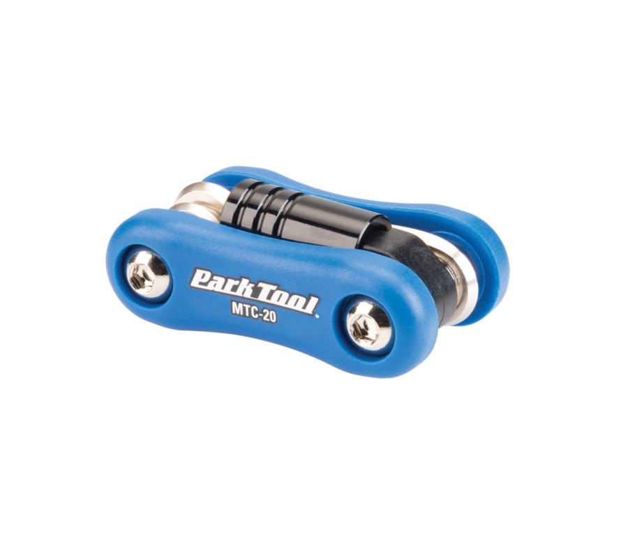 The Park Tool MTC-20 Multi-Tool, enlarged