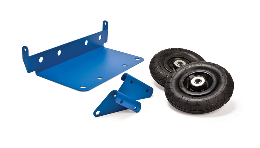 The Park Tool PB-5 Two Wheel Hand Truck Kit for PB-1 Portable Workbench, enlarged
