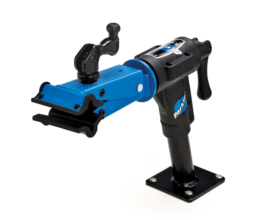 The Park Tool PCS-12 Home Mechanic Bench Mount Repair Stand, enlarged