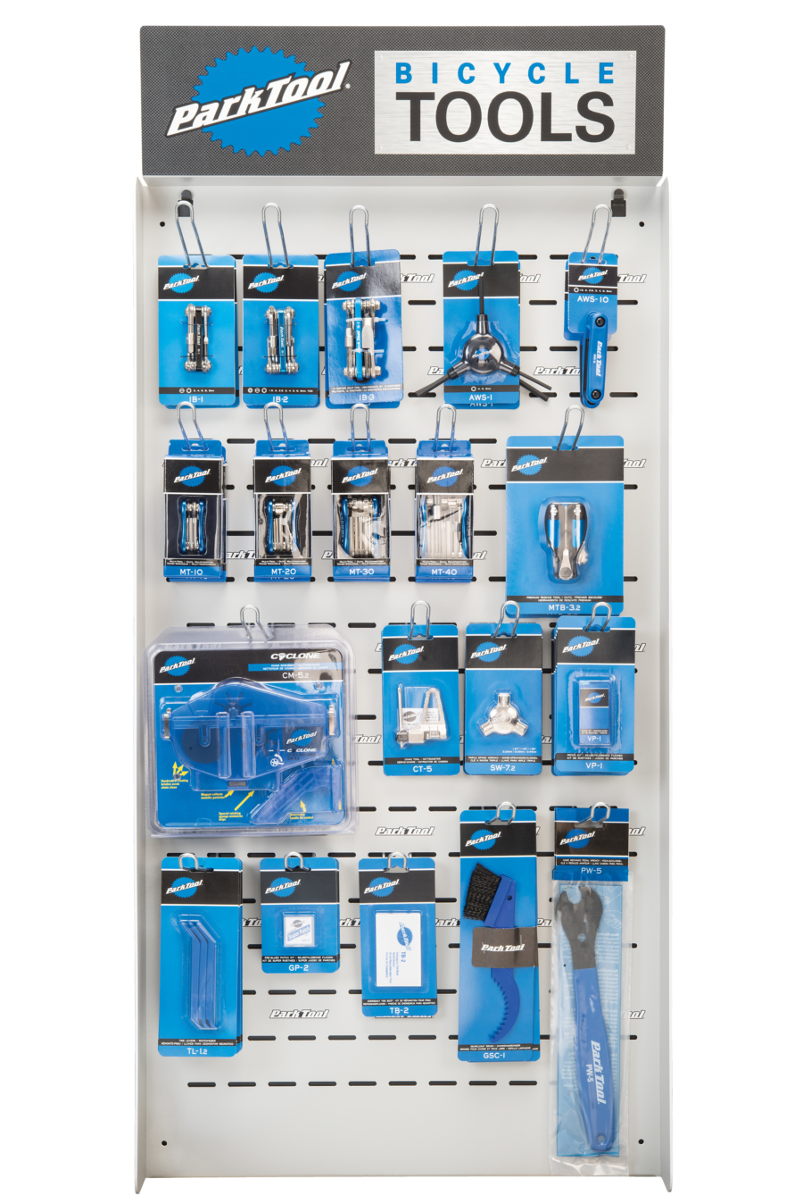 The Park Tool PDR-5.2 Mini Wall Display, enlarged