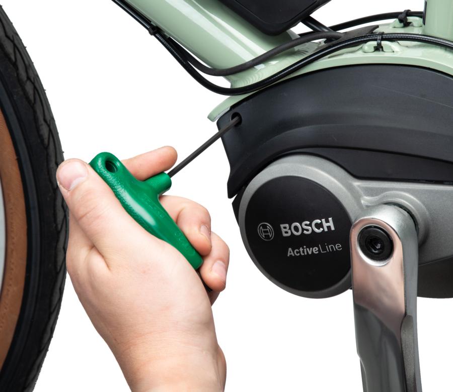 PH-T20 engaged on an e-bike motor, enlarged