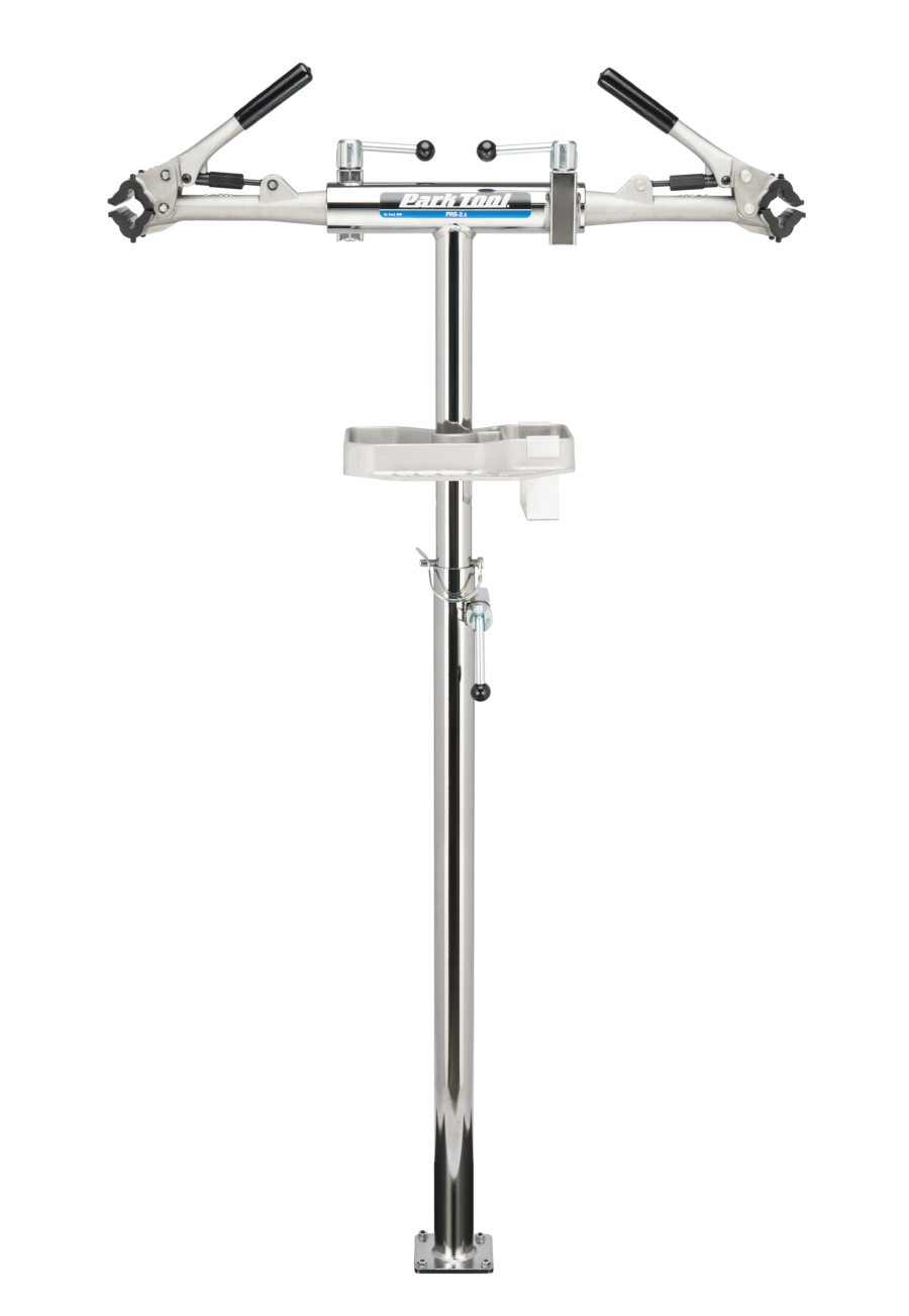 The Park Tool PRS-2.2-1 Deluxe Double Arm Repair Stand, enlarged
