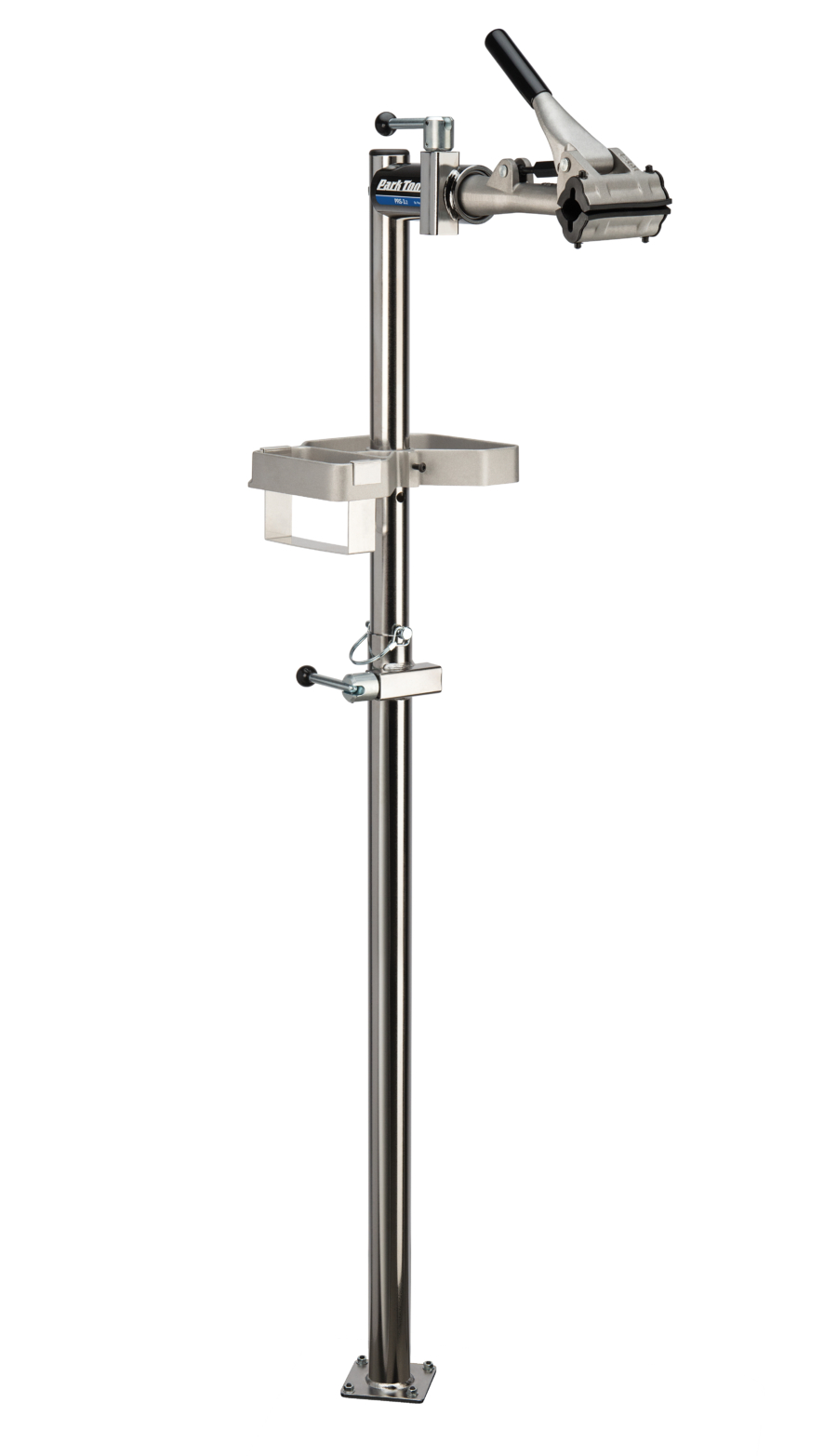 The Park Tool PRS-3.2-1 Deluxe Single Arm Repair Stand without base, enlarged