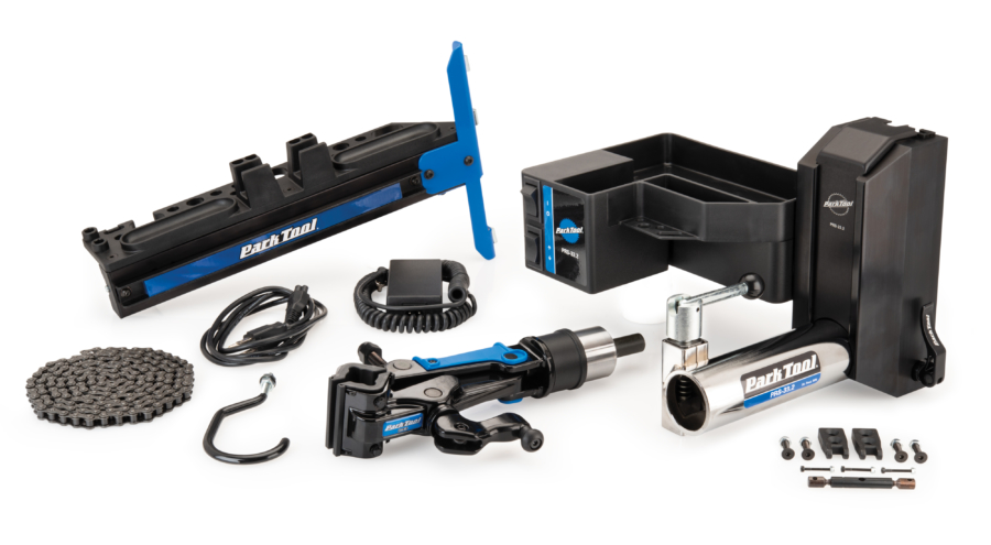 Contents of the Park Tool PRS-33.2 AOK Second Arm Add-On Kit, enlarged