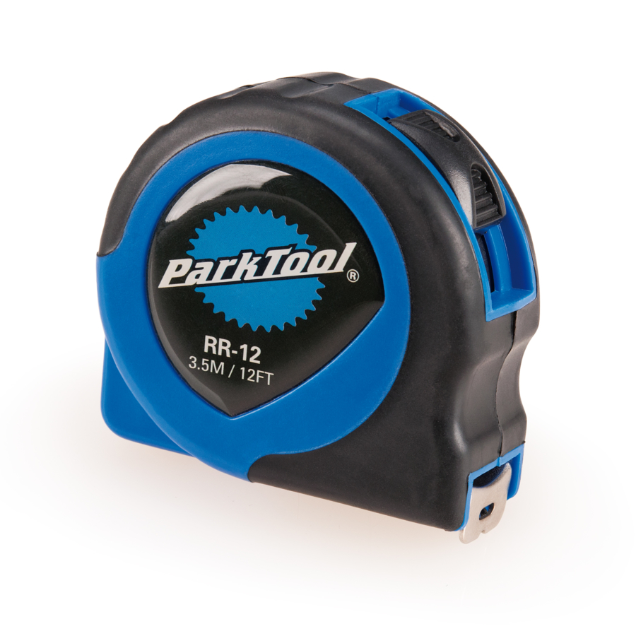 The Park Tool RR-12 Tape Measure, enlarged