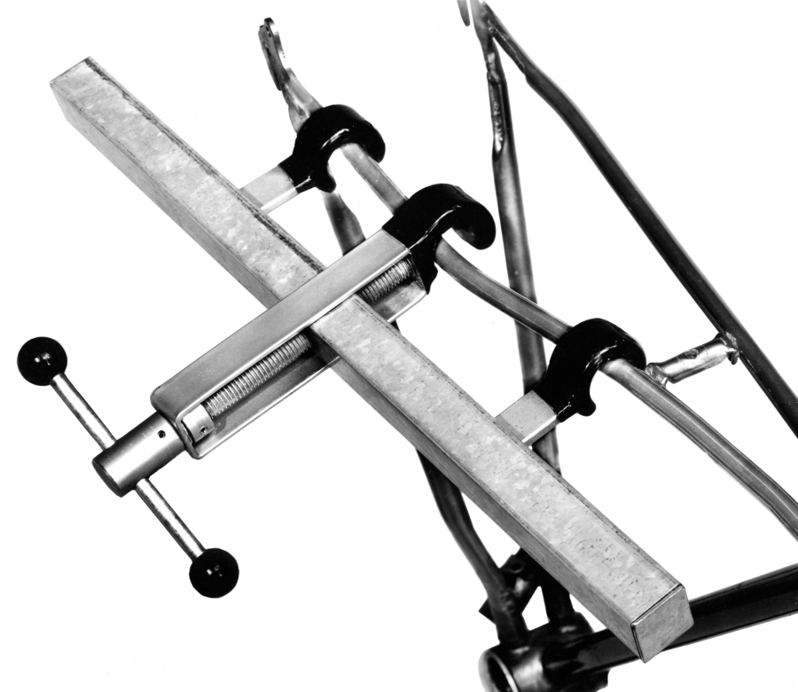 Illustration of SS-1 Seat and Chainstay Straightener, enlarged
