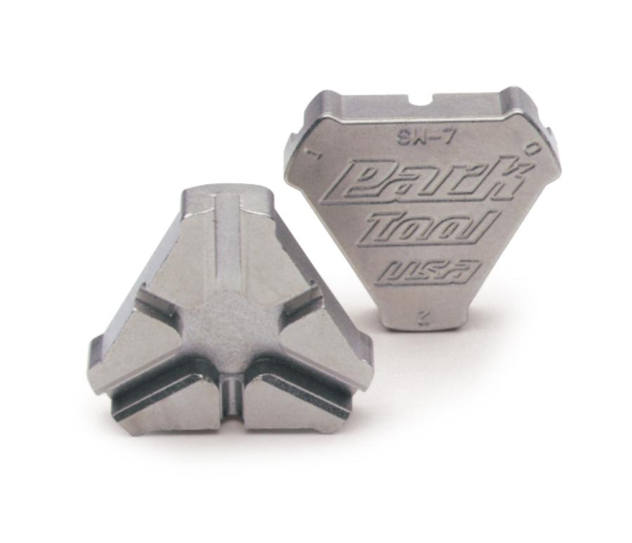 Park Tool SW-7 Triple Spoke Wrench, enlarged