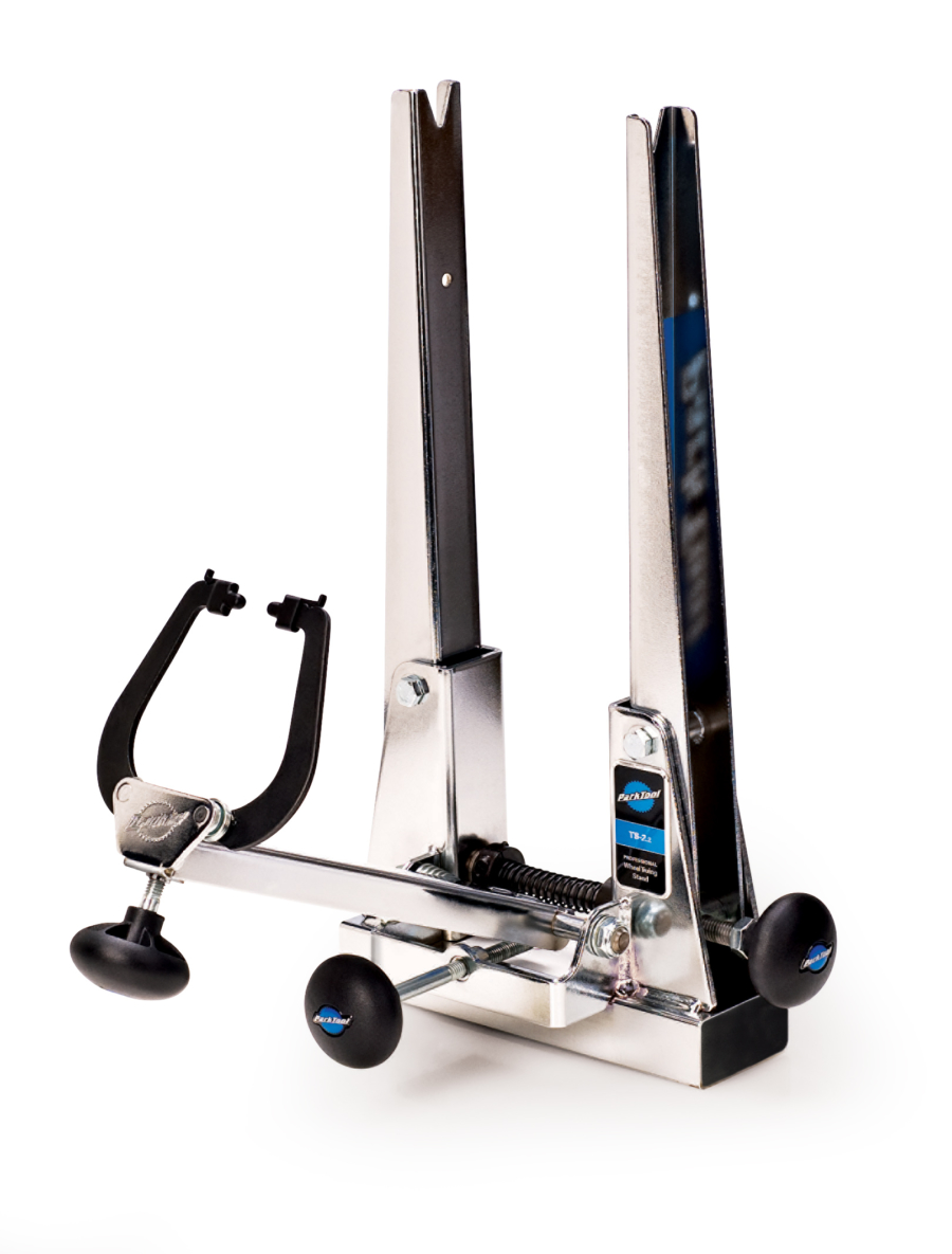 The Park Tool TS-2.2 Professional Wheel Truing Stand, enlarged
