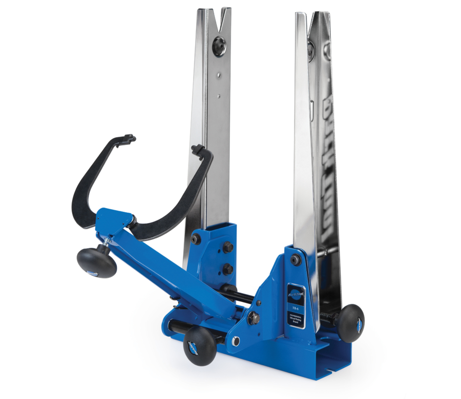 The Park Tool TS-4 Professional Wheel Truing Stand, enlarged