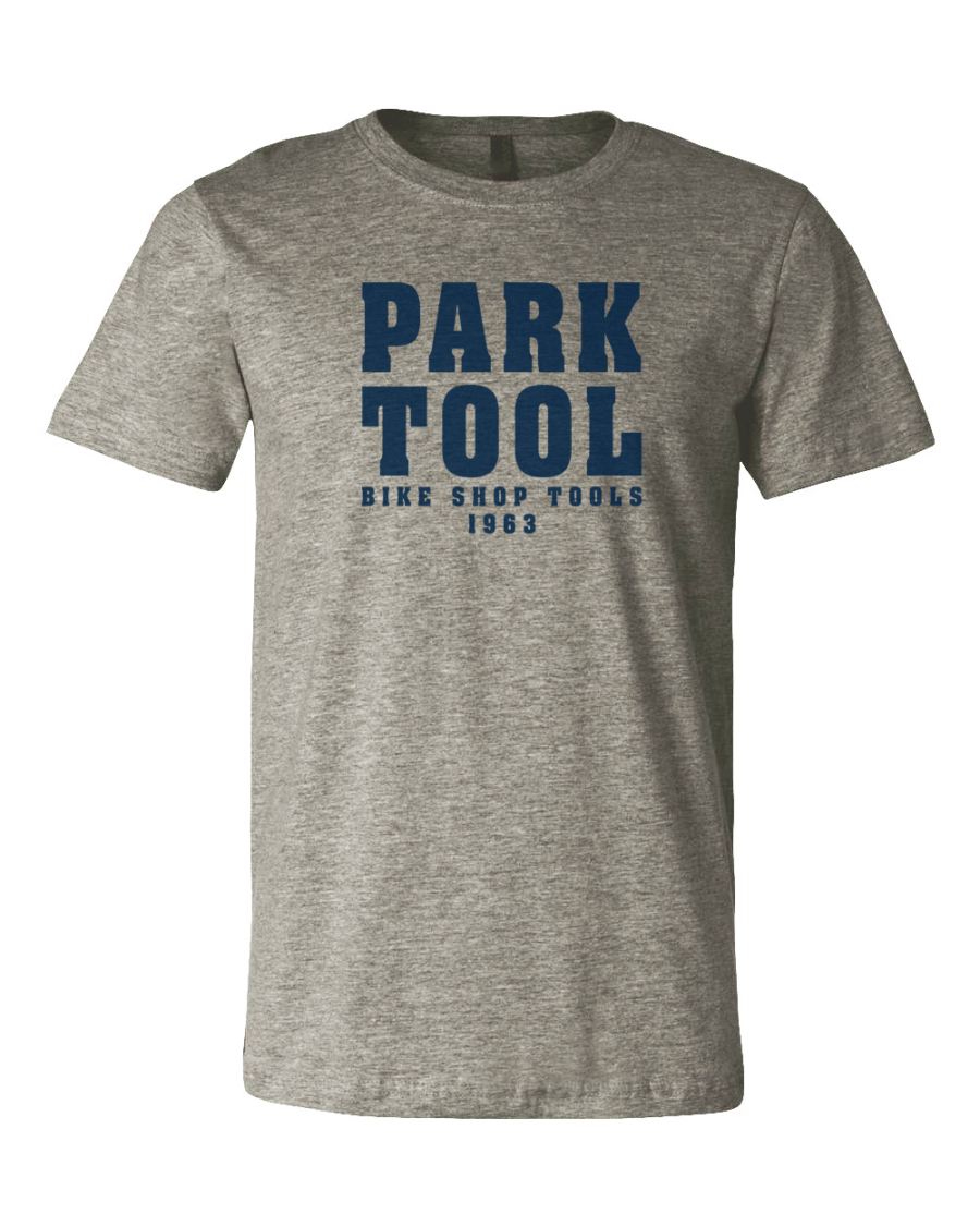 Park Tool TSP-1 Heather Gray T-Shirt, enlarged