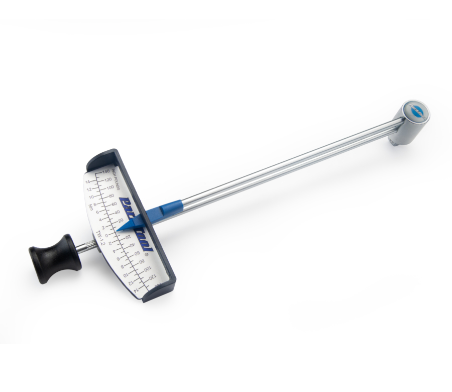 The Park Tool TW-1.2 Beam-Type Torque Wrench, enlarged